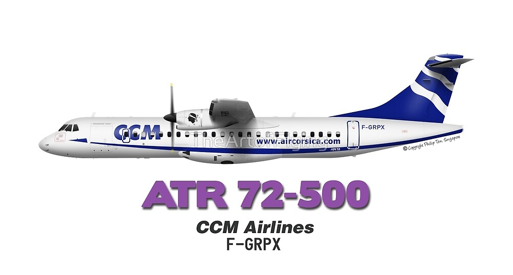 ATR 72-500 - CCM Airlines by TheArtofFlying