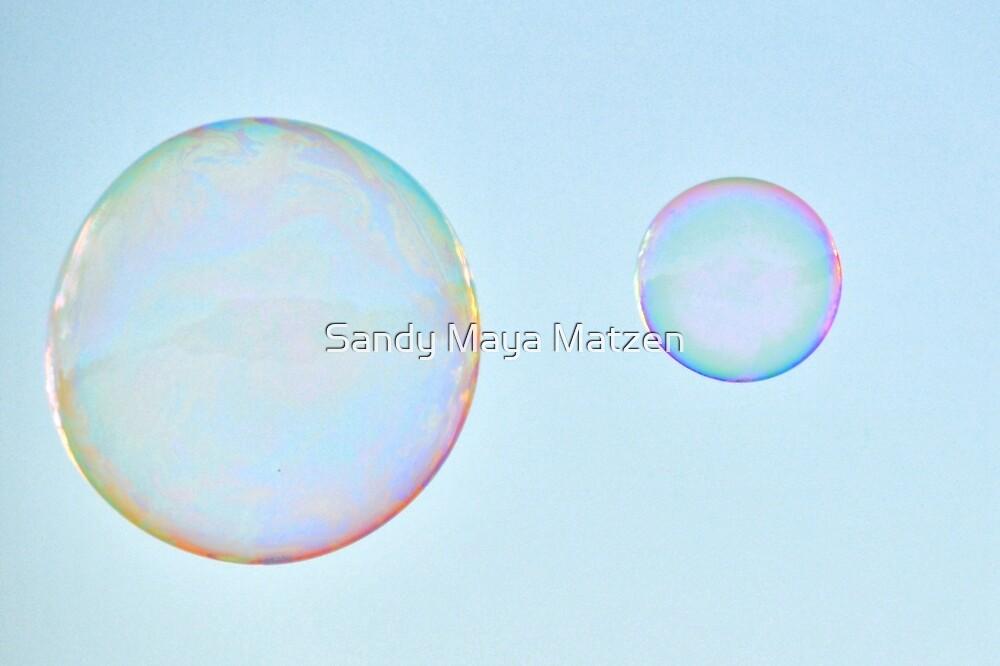 bubbles by Sandy Matzen