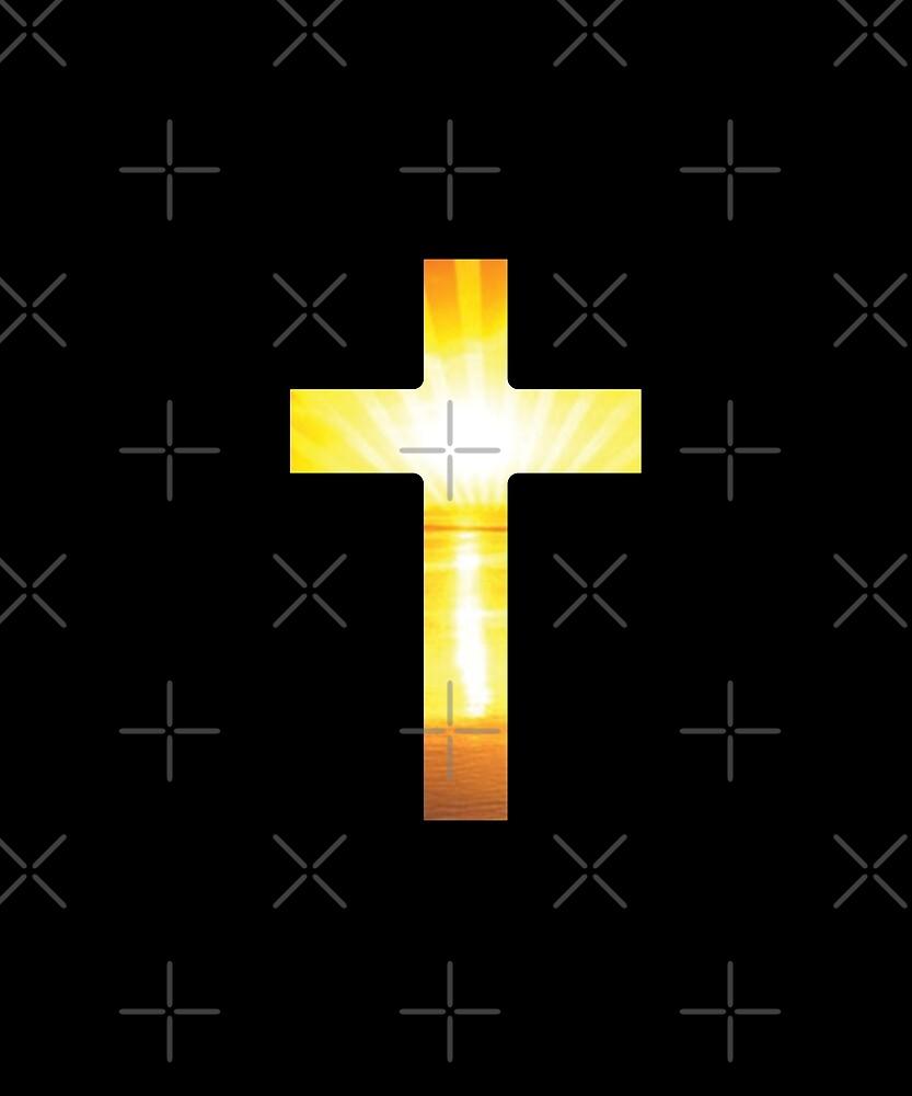 God Church Cross by Grampus