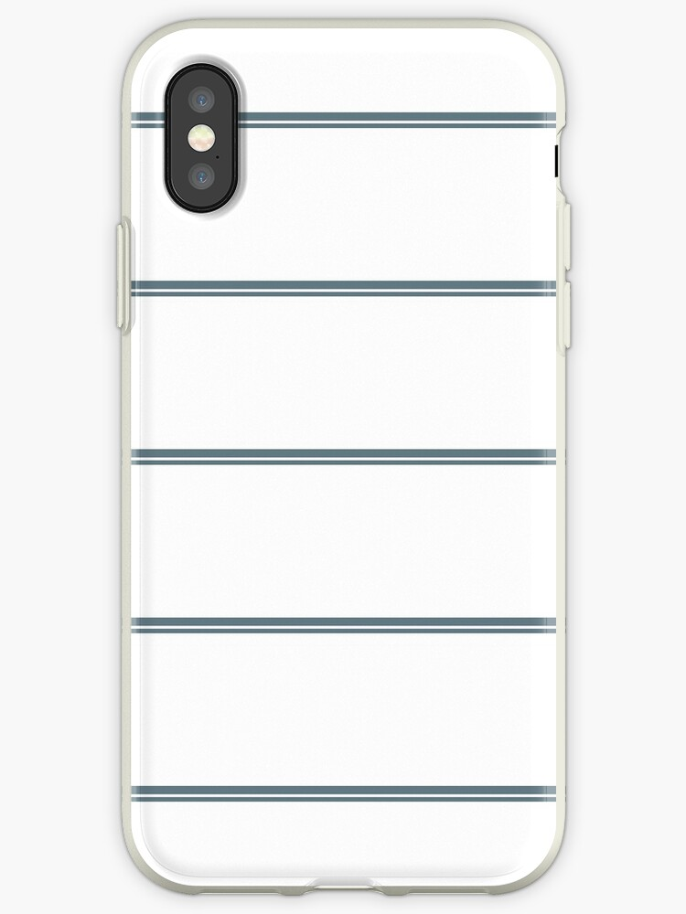 White/Navy Blue Double Stripes by sidebar