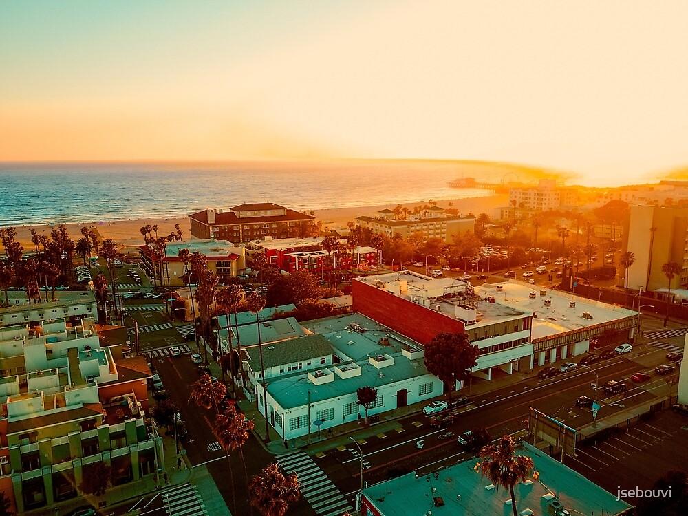 Santa Monica Beach by jsebouvi