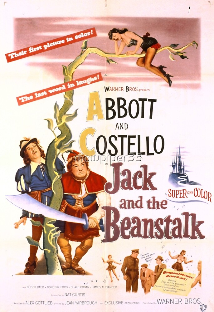 jack and the beanstalk by mowpiper33