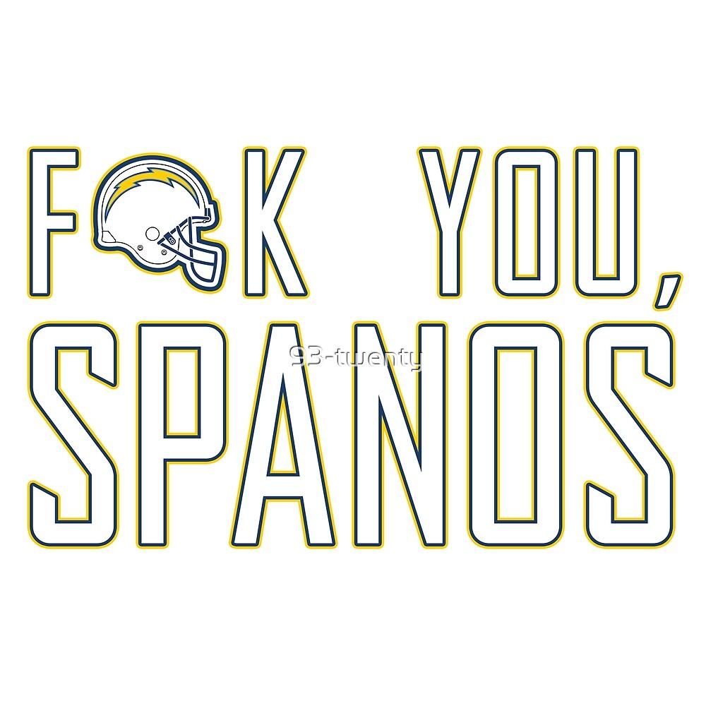 F**K YOU SPANOS! by 93-twenty