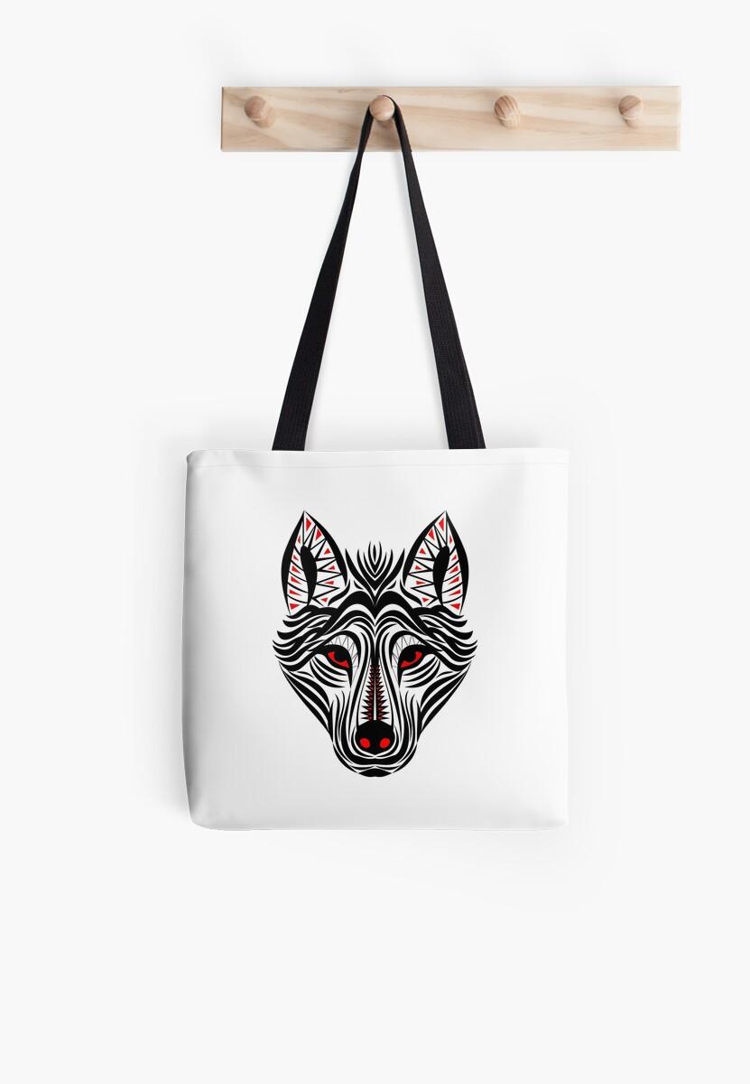Tribal Wolf by mrhighsky