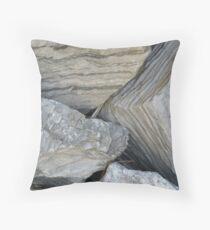 Boulders  Throw Pillow