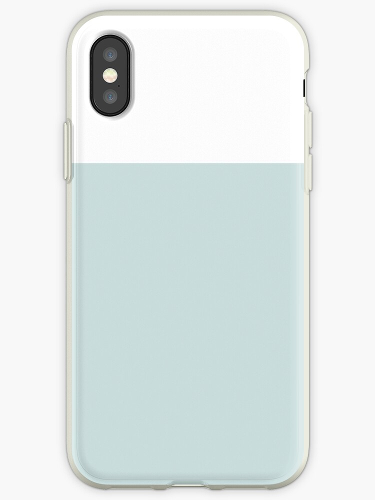 White/Ice Blue Colorblock by sidebar