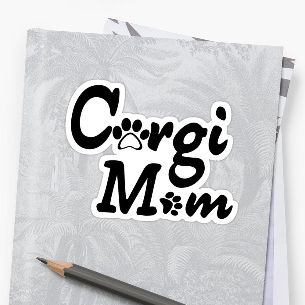 Corgi Mom by RBBeachDesigns