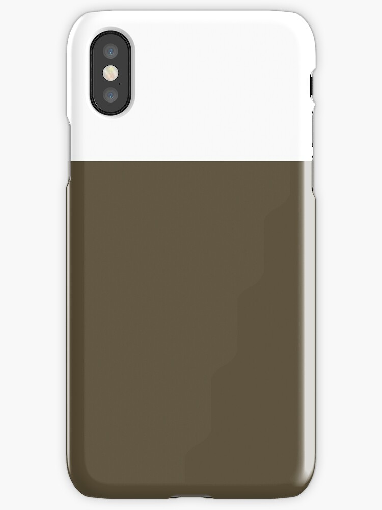 White/Brown Colorblock by sidebar