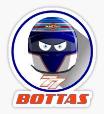 VALTTERI BOTTAS_2015_HELMET #77 Sticker