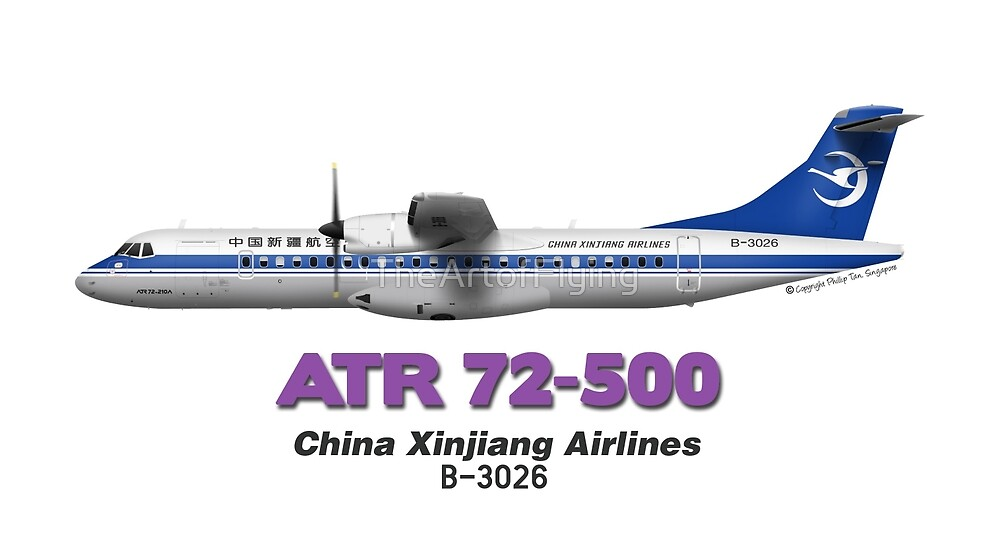 ATR 72-500 - China Xinjiang Airlines by TheArtofFlying