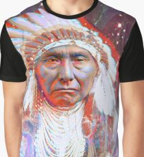 Crazy Horse Graphic T-Shirt