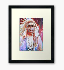 Crazy Horse Framed Print