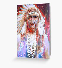 Native american indian greeting cards redbubble crazy horse greeting card 344 native american greeting card m4hsunfo