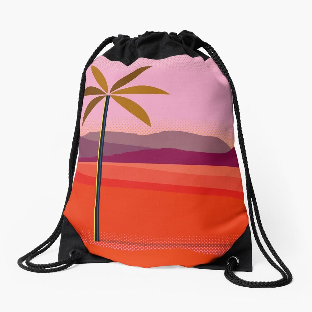 Phoenix Arizona Travel Poster Drawstring Bag