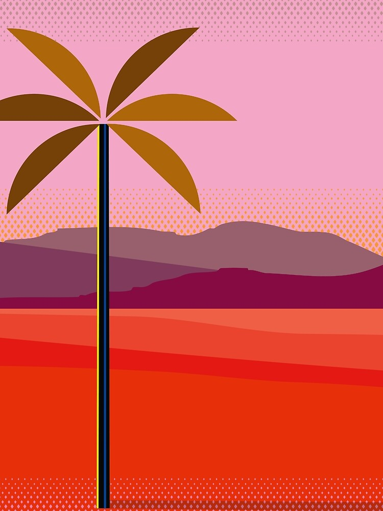 Phoenix Arizona Travel Poster by charker