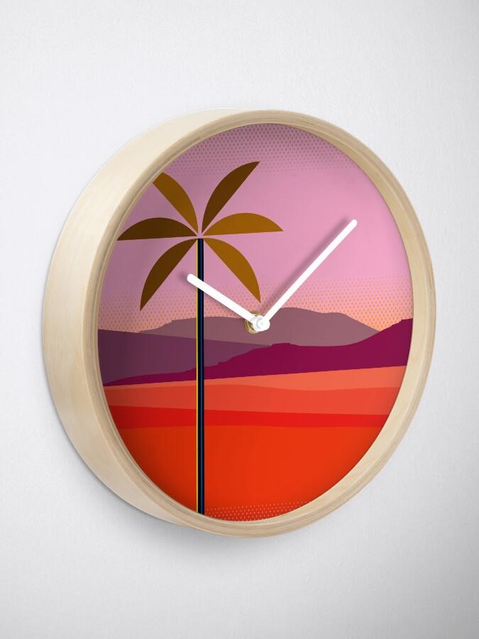Alternate view of Phoenix Arizona Travel Poster Clock