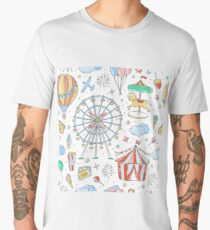 Childs Amusement Park Memories Men's Premium T-Shirt