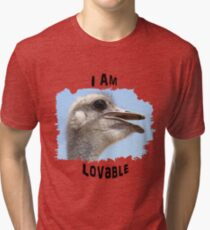 I Am Lovable Tri-blend T-Shirt