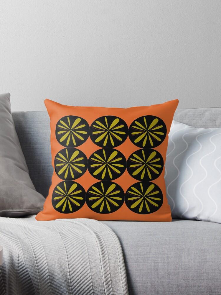 Design lemons black gold ethno by Bee and Glow Illustrations Shop
