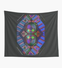 Cyber love Wall Tapestry