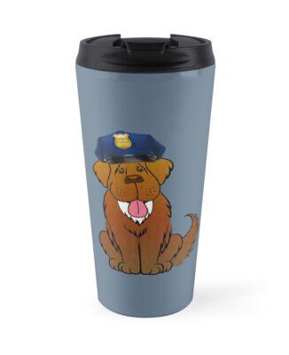 Newfoundland Police Dog by Christine Mullis