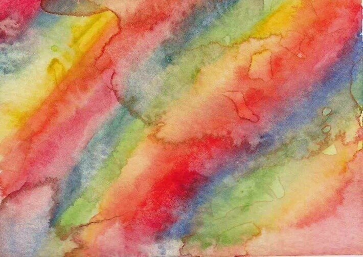 Rainbow Watercolor by sunnyphotos