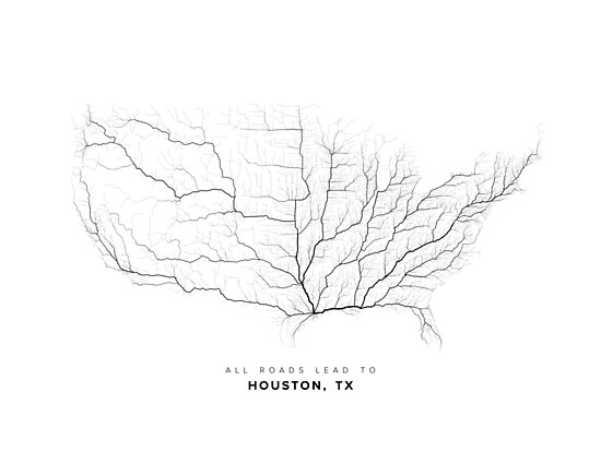 All Roads Lead to Houston (US edition) by LaarcoStudio