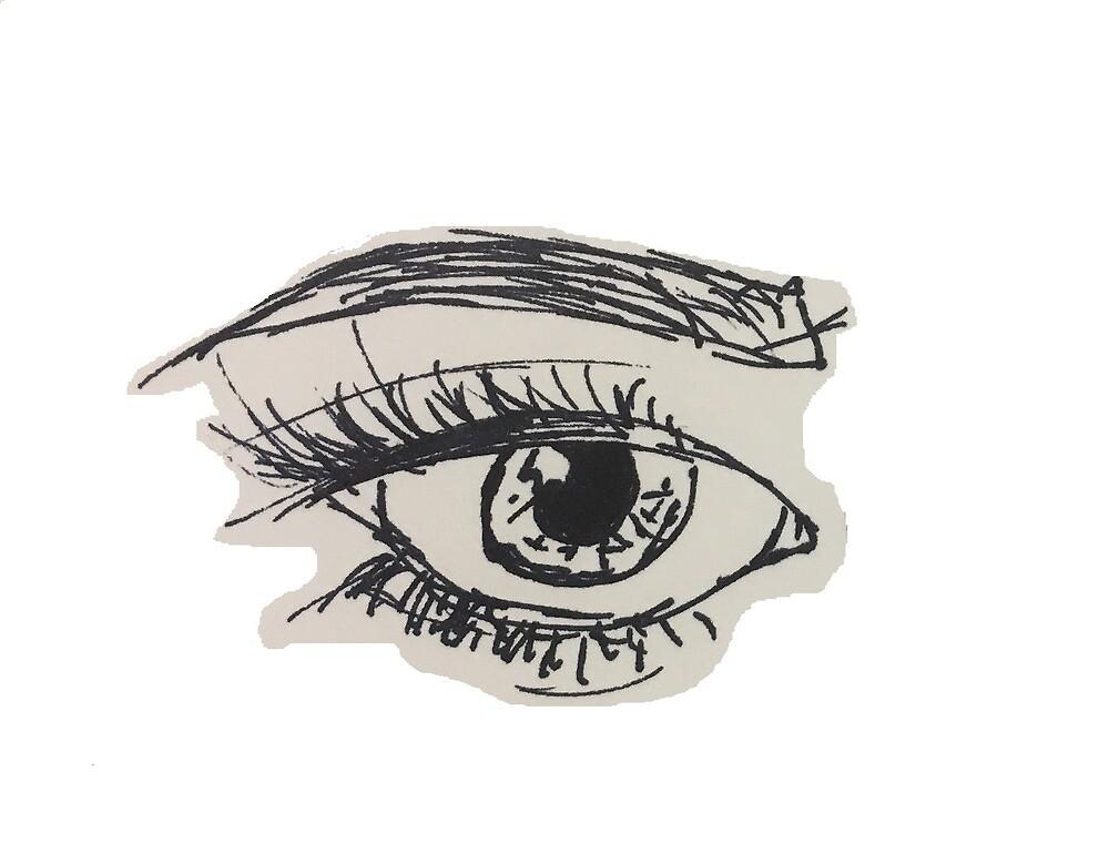 A Line of Left Eye by Loreal Renee Guglielmelli