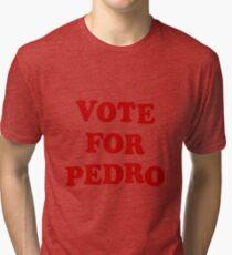Vote for Pedro Tri-blend T-Shirt