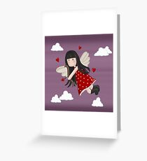 Cupid girl Greeting Card