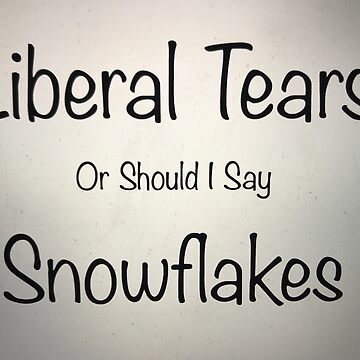 liberal tears mug by nisse23