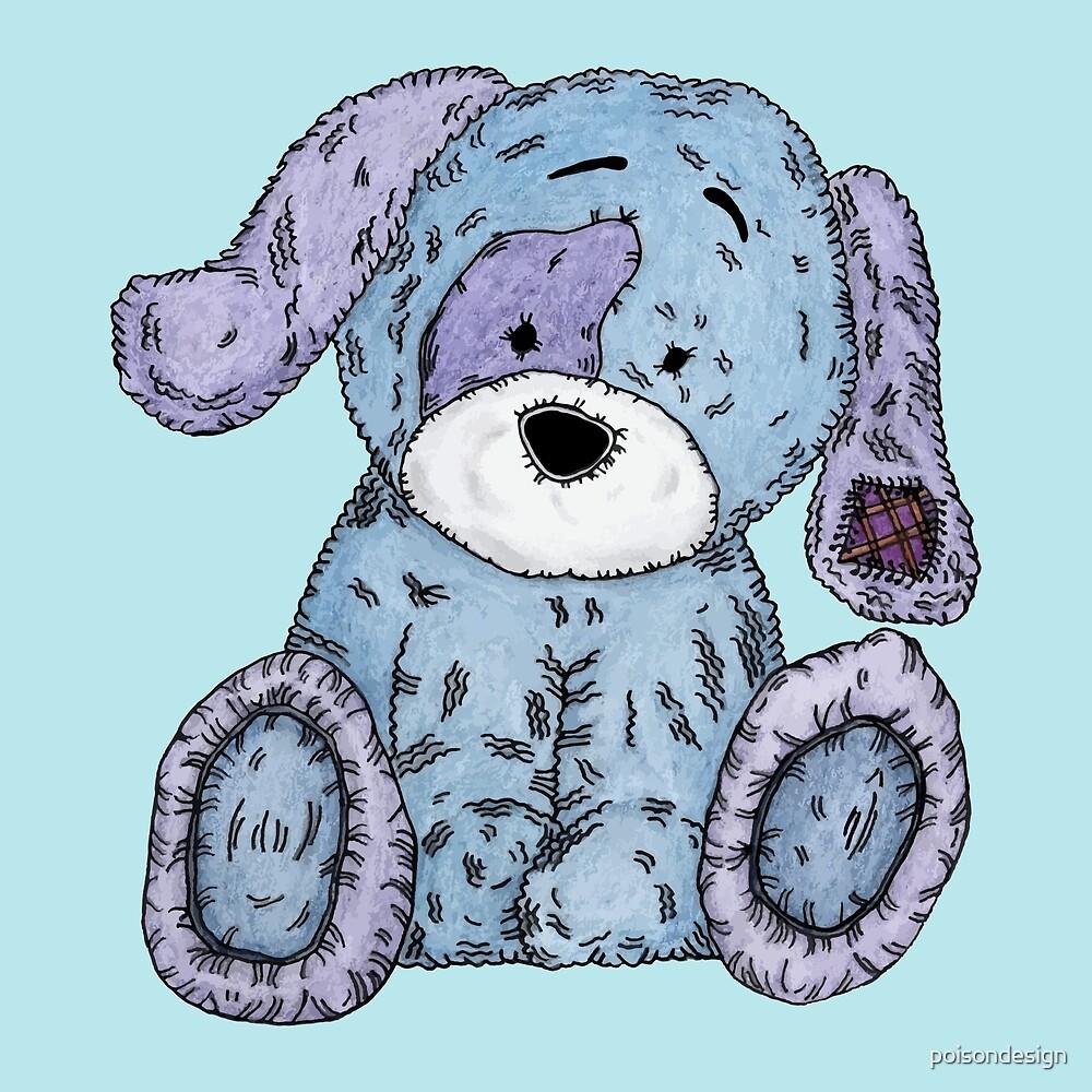 Cuddly Dog by poisondesign