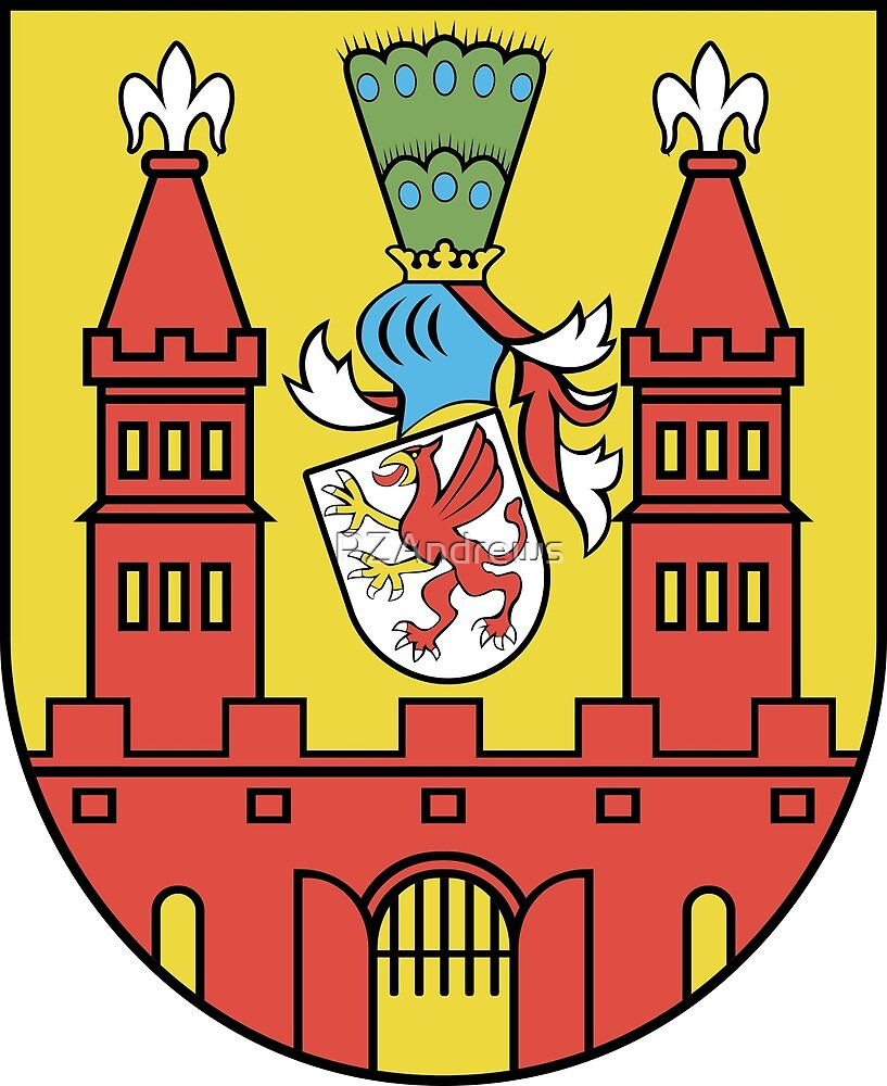 Demmin coat of arms, Germany by PZAndrews
