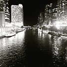 Magnificent mile at night by Calendargurl14