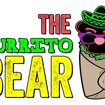 The Burrito Bear by TheBurritoBear