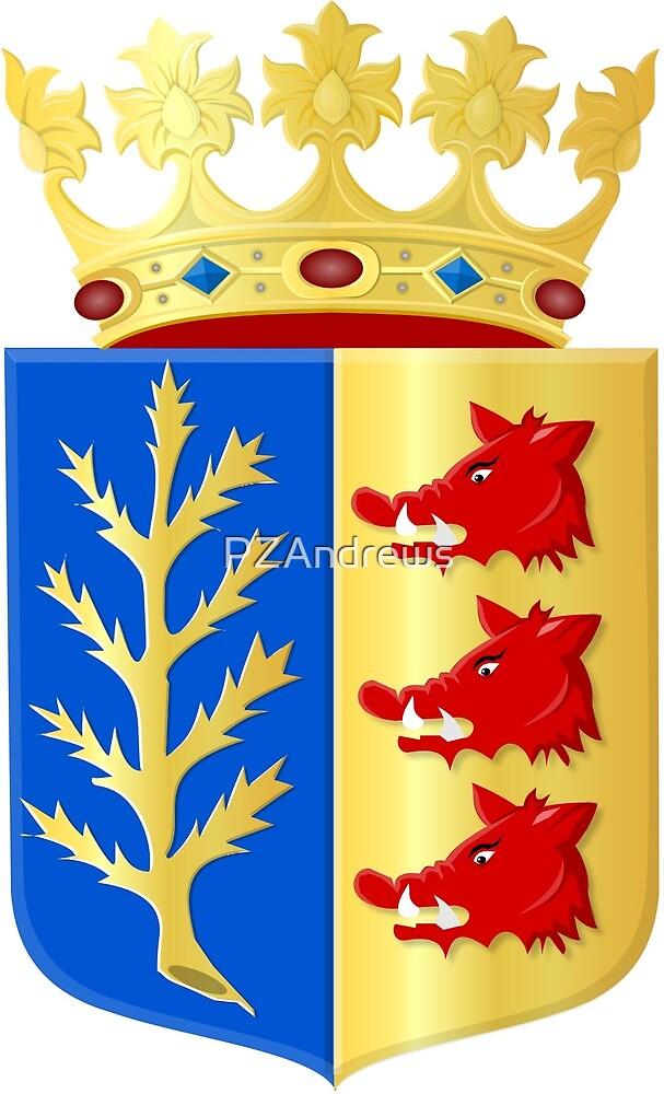 Coat of Arms of Rijssen-Holten, Netherlands by PZAndrews