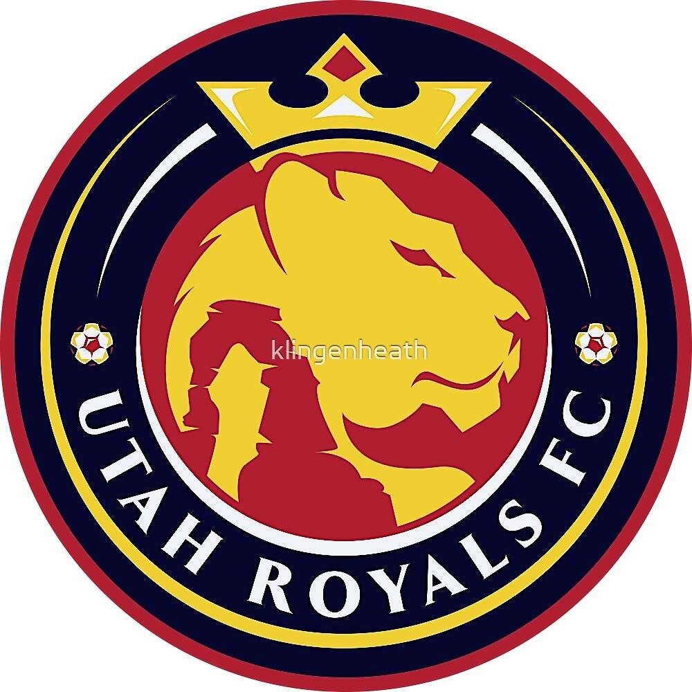UTAH ROYALS FC NWSL FAN GEAR by klingenheath