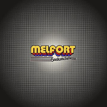 Melfort, Saskatchewan | Retro Stripes by retroready
