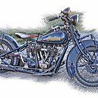 Indian Motorcycle by CarolM
