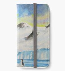Cosmic Penguins iPhone Wallet/Case/Skin
