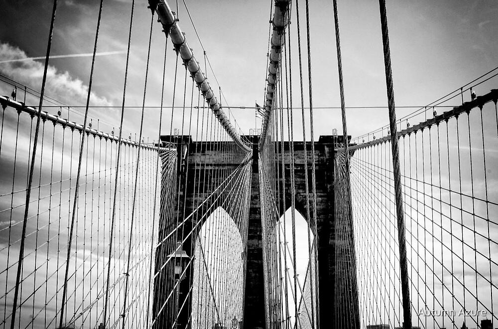 Brooklyn Bridge  by Autumn Azure