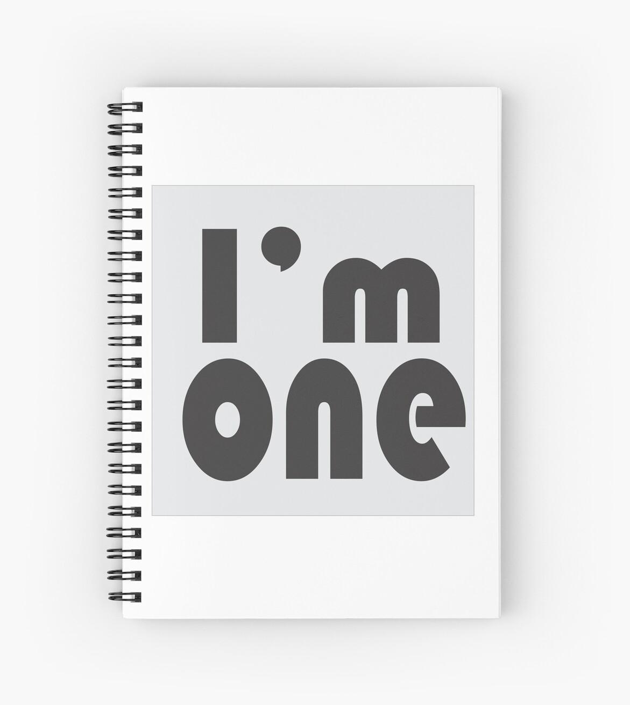 word : i'm one by TriaTanaka