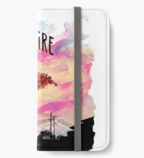 Arcade Fire Suburbs iPhone Flip-Case/Hülle/Skin