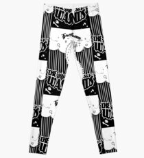 Greetings from the Wastelands white linework Leggings
