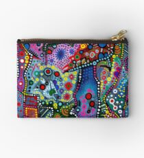 """Blue Candy Gloom"" Studio Pouch"