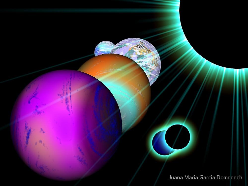 The Universe by Juana Maria Garcia Domenech