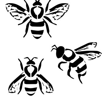 Manchester Spirit Bees by red-rawlo