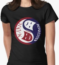 The Two Faces of Bipolar Disorder Women's Fitted T-Shirt
