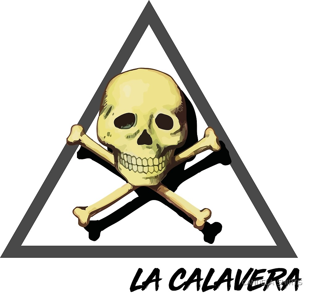 LA CALAVERA - THE SKULL by CANDELA  SHIRTS