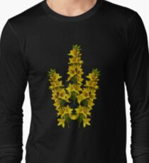 Dotted Yellow Loostrife, Muckross Head, Donegal Long Sleeve T-Shirt